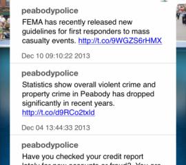 My Police Department Phone App